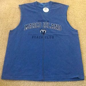 Marco Island Men's Large BRAND NEW Tank Top